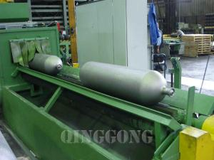 gas cylinder shot blasting machine 1