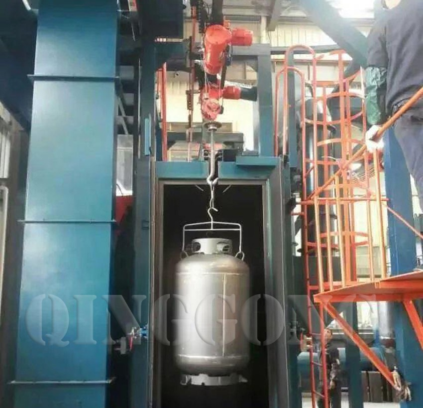 cylinder shot blasting machine 3